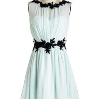 ModCloth Pastel Mid-length Sleeveless A-line Ethereal Eloquence Dress