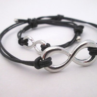 For Him and Her Infinity Bracelet