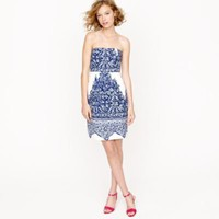 ELLA DRESS IN PORCELAIN PAISLEY