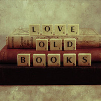Love Old Books Art Print by Ally Coxon | Society6