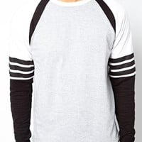 Bellfield Long Sleeve Baseball Top