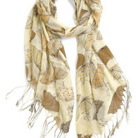 ModCloth Rainy Day Regal Scarf