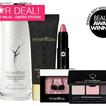 *SP Get the Winning Glow! 5pce Makeup and Skincare Kit - Mirenesse