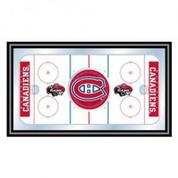 Trademark Global NHL Montreal Canadians Framed Hockey Rink Mirror - NHL1500-MC - All Wall Art - Wall Art & Coverings - Decor