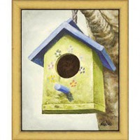 Windsor Vanguard Bird House I by Unknown - VC2174A - All Wall Art - Wall Art & Coverings - Decor