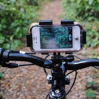 Sabrent iClam - Waterproof Extreme Sports Case for your iPhone 4 - (5 different mounts included) (SBT-ICLAM4)