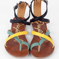 Athena Sandals in Sea Green :: tobi