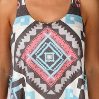 Sale-tribal Crop Tank