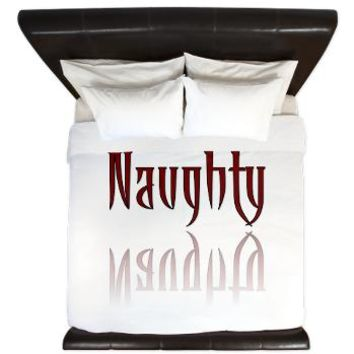 Naughty Night Nature King Duvet - Girl Tease