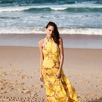 Drifter Maxi Dress Mellow Yellow