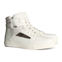 H&M - High Tops - White - Ladies