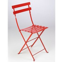 J. Covington Home - Bistro Folding Metal Chair