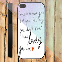 Coldplay The Scientist custom design available for iphone 4/4s,5/5s/5c and samsung galaxy S3/S4/S5 case