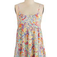 ModCloth Long Spaghetti Straps Feel My Sunshine Tank