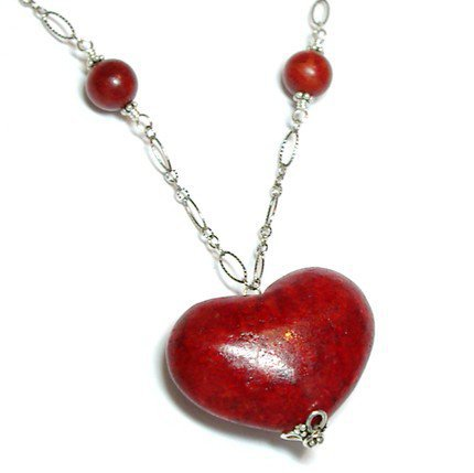 Tilleyjewels Heart Like A Sponge Necklace | tilleyjewels - Jewelry on ArtFire
