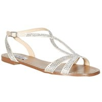 Steve Madden Starrz Rhinestone Dress Sandal at Von Maur