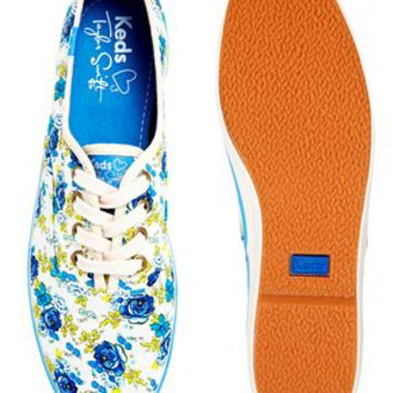 Keds Secret Garden Taylor Swift Plimsoll Trainers