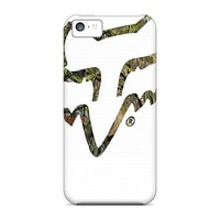 Top Quality Tpu Camo Fox Racing Protective VbKAsp-814-uOZ Case For Iphone(5c) Case