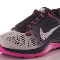 Nike Womens LunarGlide+ 5 Black/White/Club Pink/Fade