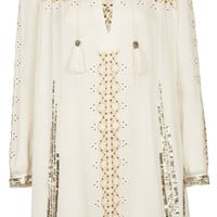 **Embroidered Smock Dress by Kate M...