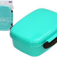 1 Tier Light Blue Bento Box
