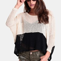 Alter Ego Oversized Sweater | Threadsence