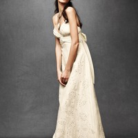Eyelet Medley Sheath in the SHOP Gowns at BHLDN