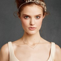 Botanical Garland Headband in the SHOP Hair Adornments at BHLDN