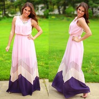 Walking On Air Maxi Dress