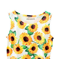 Sunflower Crop Tank (PREORDER)