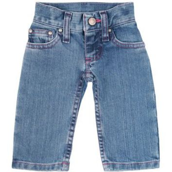 Wrangler® All Around Baby™ Infant Jean, Pink Stitching
