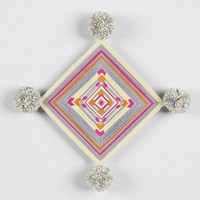 Magical Thinking Geo Yarn Wall Sculpture - Urban Outfitters
