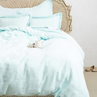 Soft-Washed Linen Duvet by Anthropologie