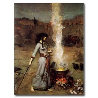 Waterhouse The Magic Circle Postcard