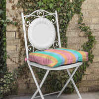 Lisa Argyropoulos Tropical Sundae Outdoor Seat Cushion