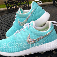 Swarovski Bedazzling Nike Roshe Run Package-*Shoes Not Provided*