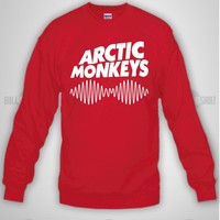 Bull-shirt.com arctic monkeys Crewneck Sweatshirt Bull-shirt.com