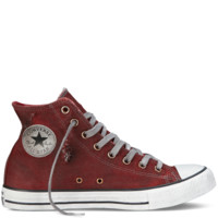 Converse - Chuck Taylor Distressed Wash - Hi - Red