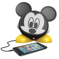 eKids Mickey Mouse Rechargeable Character Speaker, by iHome - DY-M662