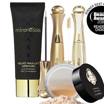 *SP Irene Recommends Youthful Airbrushed Complexion 4pce Kit - Mirenesse