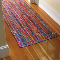 Extra Weave USA Carnivale Braided Rug, 2-Feet by 3-Feet