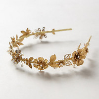 Gilded Bloom Headband