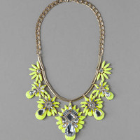 SORRENTO CRYSTAL STATEMENT NECKLACE