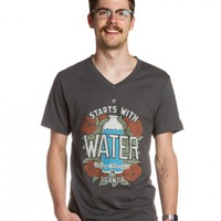 Start with Water V Neck