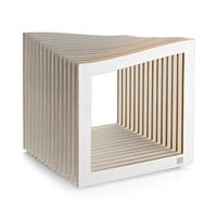 MONOQI | Falon Stool - White