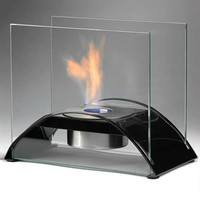 "Product: 6.3""H x 9.61"" x 10.83"" - Sunset Ethanol Fireplace -"