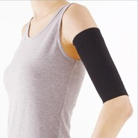TOOGOO(R) Black Slimming Ladies Black Weight Loss Arm Shaper Cellulite Fat Buster New Wrap/Belt