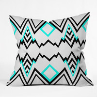 Elisabeth Fredriksson Wicked Valley Pattern 1 Throw Pillow - Indoor /