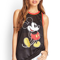 Mickey Mouse Mesh Jersey