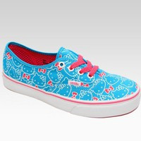 shop.sanrio.com - VANS x Hello Kitty Authentic Lace Up: Ocean